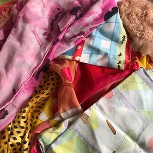Bundle of 6 scarves
